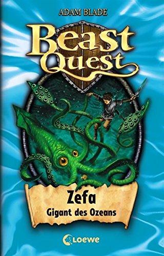 Beast Quest - Zefa, Gigant des Ozeans: Band 7 (Adams Band)