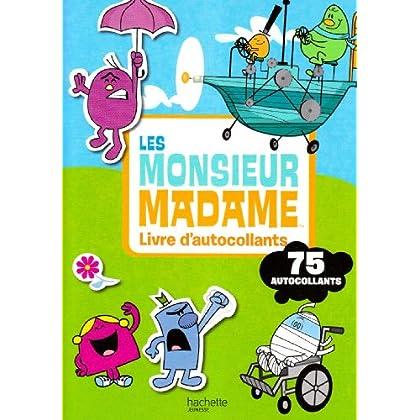 Les Monsieur Madame : Livre d'autocollants