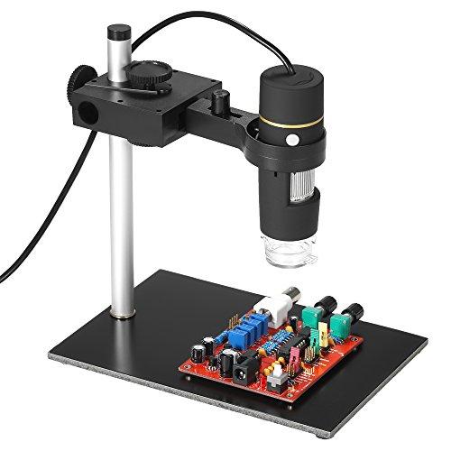 KKmoon 1000 x Vergrößerung USB Digital Mikroskop mit OTG Funktion Endoskop 8 LED Licht Lupe Lupe mit Ständer