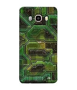Snapdilla Designer Back Case Cover for Samsung Galaxy J7 (6) 2016 :: Samsung Galaxy J7 2016 Duos :: Samsung Galaxy J7 2016 J710F J710Fn J710M J710H (Texture Illustration Handmade Black Backcase Pouch )
