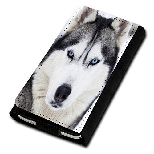 Book Style Flip Handy Tasche Case Schutz Hülle Foto Schale Motiv Etui für Phicomm Clue L - Flip U5 Design1
