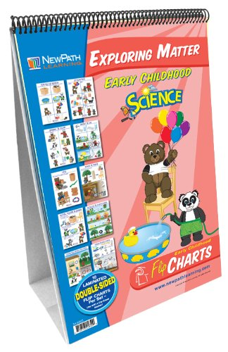 NewPath Learning Exploring Matter Curriculum Mastery Flip Chart Set, Early Childhood