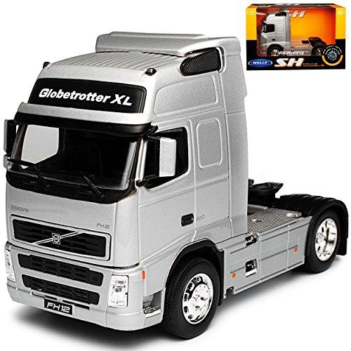 alles-meine.de GmbH Volvo FH12 Silber Zugfahrzeug LKW Truck 1/32 Welly Modell Auto