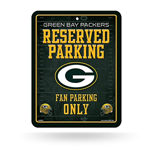 Rico Industries NFL Green Bay Packers Parking Sign Schild