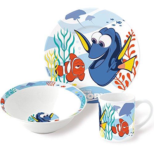 Findet Dorie Kinder Frühstücks-Set 3-teilig aus Keramik im Geschenkkarton