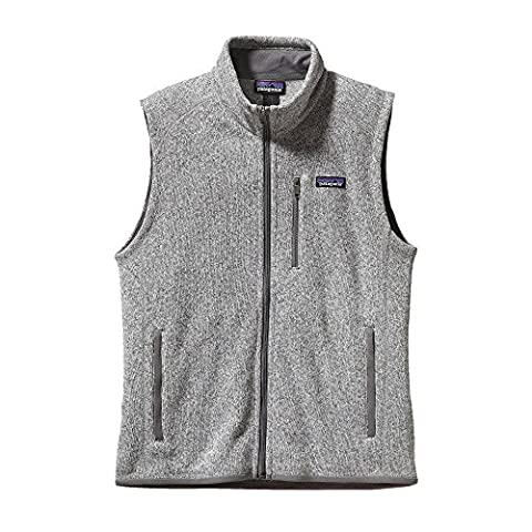 Patagonia Men Better Sweater Fleece Vest grey Stonewash Size:L