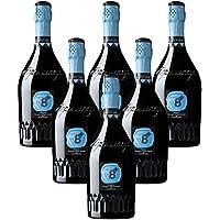 Sior Gino Prosecco Millesimato Dry DOC Vineyeards V8+ 6 botellas 75 cl.