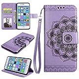 BoxTii Coque pour Apple iPhone 7 Plus / 8 Plus, Étui en Cuir Portefeuille Housse...