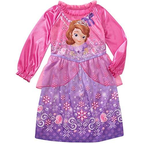 Prinzessin Sofia das erste M?dchen Langarm Nachthemd Pyjama Gr??e 5 t (Langarm-pyjamas Prinzessinnen Disney)