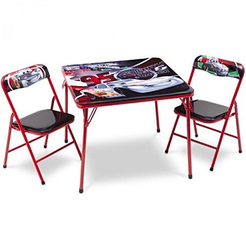 Disney Cars Kindersitzgruppe Sitzgruppe Klapptisch Klappstuhl KIndermöbel Tisch + 2 Stühle NEU