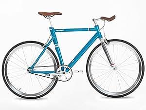 New Alloy Fixed Gear Bike, Special Design Unique, 56CM, Blue