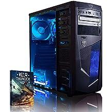 Vibox Vision 2 - Ordenador de sobremesa (AMD A Series Dual Core A4, 8 GB de RAM, 1 TB, AMD Radeon HD 6450, DOS), color negro
