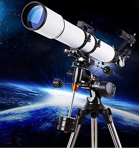 Waj Telescopio Hd Apertura Grande 90 Mm Refractor