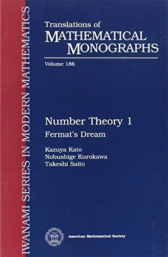 Number Theory 1: Fermat's Dream (Translations of Mathematical Monographs) (Vol 1) First edition by Kazuya Kato, Nobushige Kurokawa, Takeshi Saito (2000) Paperback