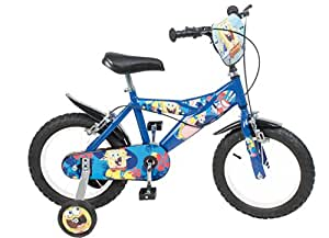 14 zoll kinderfahrrad spongebob jungen 4 5 6 7 jahre. Black Bedroom Furniture Sets. Home Design Ideas