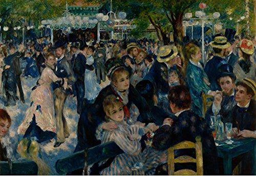 Das Museum Outlet-Dance At Le Moulin de la Galette von Renoir-A3Poster