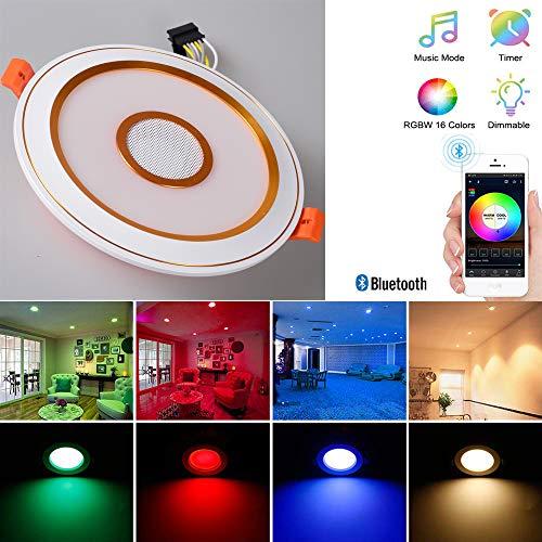 Cpippo Inteligente LED empotrada en el Techo, Focos LED Focos empotrables, 7W...