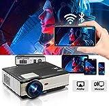 Projecteur de cinéma Projecteur HDMI de cinéma Maison sans Fil de 4200 lumens avec...