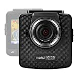 maisi Pro Uber Dash Cam Infrared Night Vision Full HD Dash Camera with Smart Collision Detection (2304x1296p, Loop Recording and G-Sensor, and MORE)
