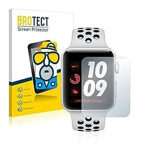 2X BROTECT Matt Displayschutz Schutzfolie für Apple Watch Nike Plus Series 3 (38 mm) (matt – entspiegelt, Kratzfest, schmutzabweisend)