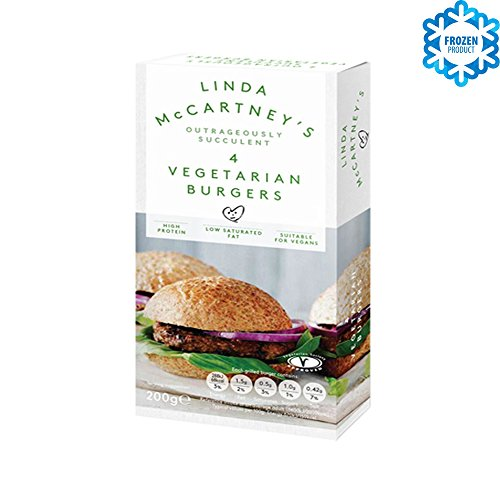 LINDA McCARTNEY Hamburguesas Vegetarianas 200g VEGANO Congelado