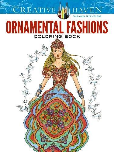 Creative Haven Ornamental Fashions Coloring Book (Creative Haven Coloring Books) Ming Blossom