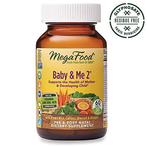 Mega Food Megafood Baby & Me 2, wichtige Nährstoffe für pränatale Unterstützung beider Mutter & Baby, Tabletten