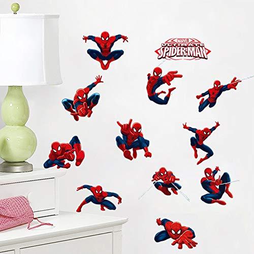 Wandtattoos Kinderzimmer Spiderman