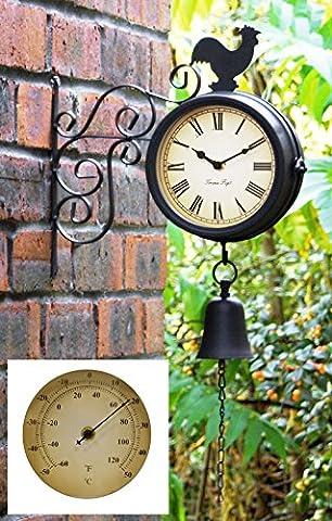 Horloge et thermomètre d