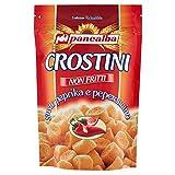 Panealba Crostini Non Fritti, Gusto Paprika e Peperoncino - 100 gr