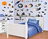 Cheapest Wall-Sticker Space Room - Décor Kit - 46 x 34 cm | PostersEU on