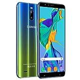 Moviles Buenos 3GB RAM 16GB ROM, 6'' Moviles Libres 4G Android 8.1 Dual SIM Dual Cámara 12MP+5MP Telefono Móvil 4800mAh Batería J6+(2019) Smartphone Libres Face ID