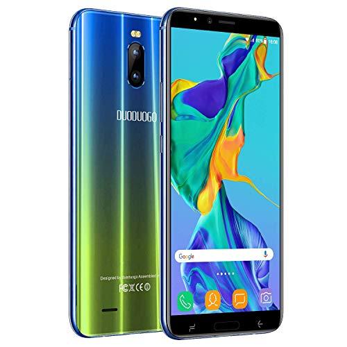 Moviles Libres 4G 3+16GB, DUODUOGO Moviles Buenos Android 8.1 Dual Cámara...