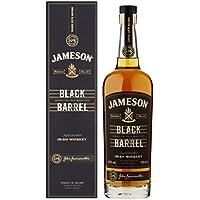 Jameson Black Barrel Irish Whiskey – Blended Irish Whiskey mit Jameson Single Irish Pot Still Whiskeys und seltenem Grain Whiskey – 1 x 0,7 L