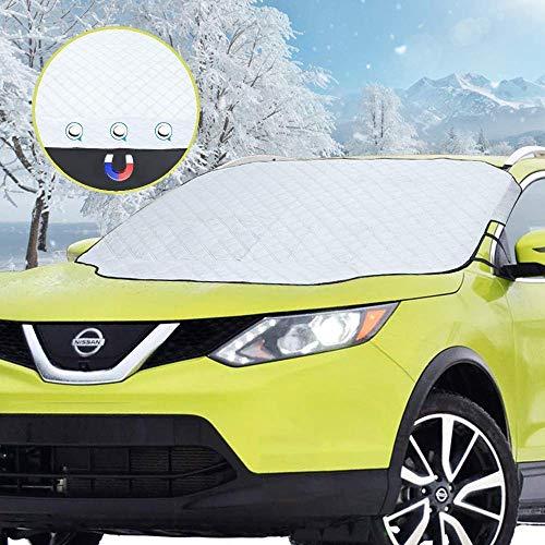 Auto Frontscheibe Sonnenblende Auto Magnetic Kompletter Schutz Anti Ice Screen Cover Früher Für LKW SUV Van Und Mehr