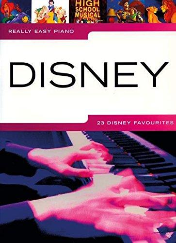 DISNEY REALLY EASY PIANO (Disney Publications)