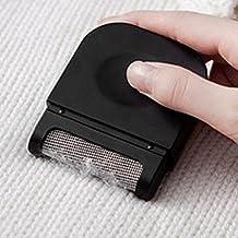 Cepillo para Textiles, Cepillo Mágico Quita Pelusas para eliminar los nudos de lana VOOA (Negro)
