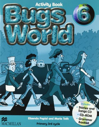Bugs World 6 Activity Pack - 9780230407640 por Desconocido