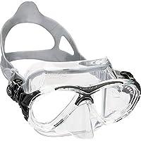 Cressi Eyes Evolution Crystal - Gafas de buceo transparente clear/schwarz Talla:medium