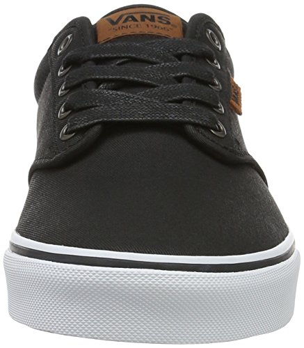 Vans Mn Atwood Dx, Sneakers Basses Homme Noir (Waxed)