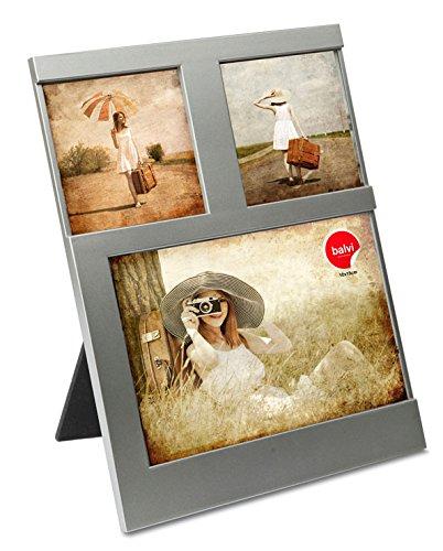Balvi Marco Dijon Color Plateado Capacidad: 3 Fotos