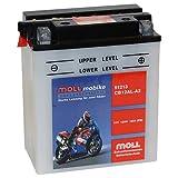 Moll mobike Motorradbatterie CB12AL-A2 12Ah 12V...