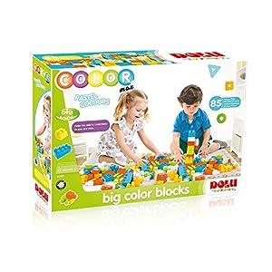 Fisher Price- Big Color Blocks 85 PCS, Multicolor (6265190)