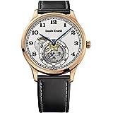 Louis Erard 1931 Automatik Uhr, PVD Rose Gold, Weiss, Leder, 32217PR31.BRV32