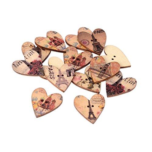 pandahall-50-bottoni-stampati-di-legno-misti-con-2-fori-a-forma-di-cuore-color-legno-28x25x3-mm