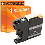 Gorilla-Ink® 1x Tinten-Patrone XXL kompatibel für Brother LC223XL LC227XL Schwarz MFC-J 480 DW DCP-J 562 DW MFC-J 680 DW MFC-J 880 DW MFC-J 1100 Series MFC-J 1140 W