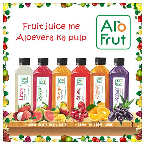 Axiom_Ayurveda Alo Fruit Juice Taste Combo 200ml – Pack of 12
