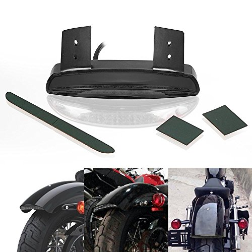 Forty eight the best amazon price in savemoney dlll 12 v humo picados fender borde 8 led luz trasera luz corriente para harley davidson fandeluxe Choice Image