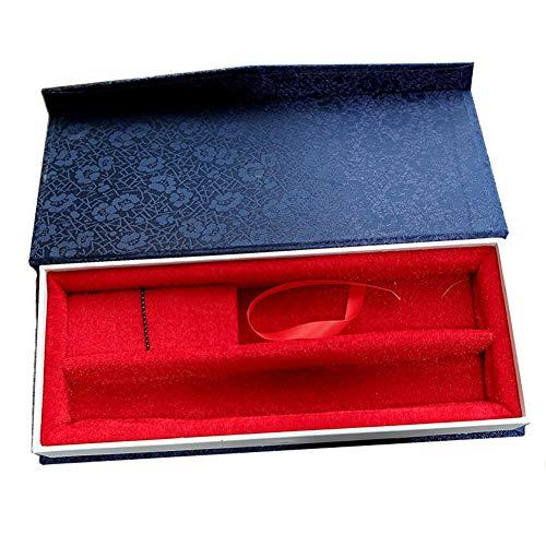 GWXLD Caja De Regalo con Abanico Plegable A Mano - Protector Solar A Prueba De Agua Brocado Ventilador...