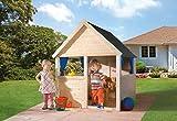 Weka Spielhaus / Kinderspielhaus 815 Fichtenholz 128x130cm